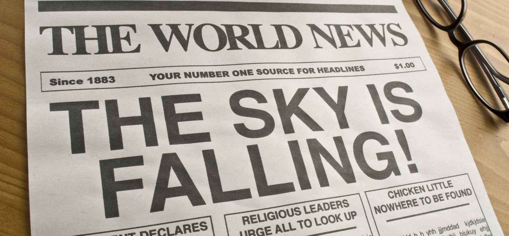 Image result for sky is falling