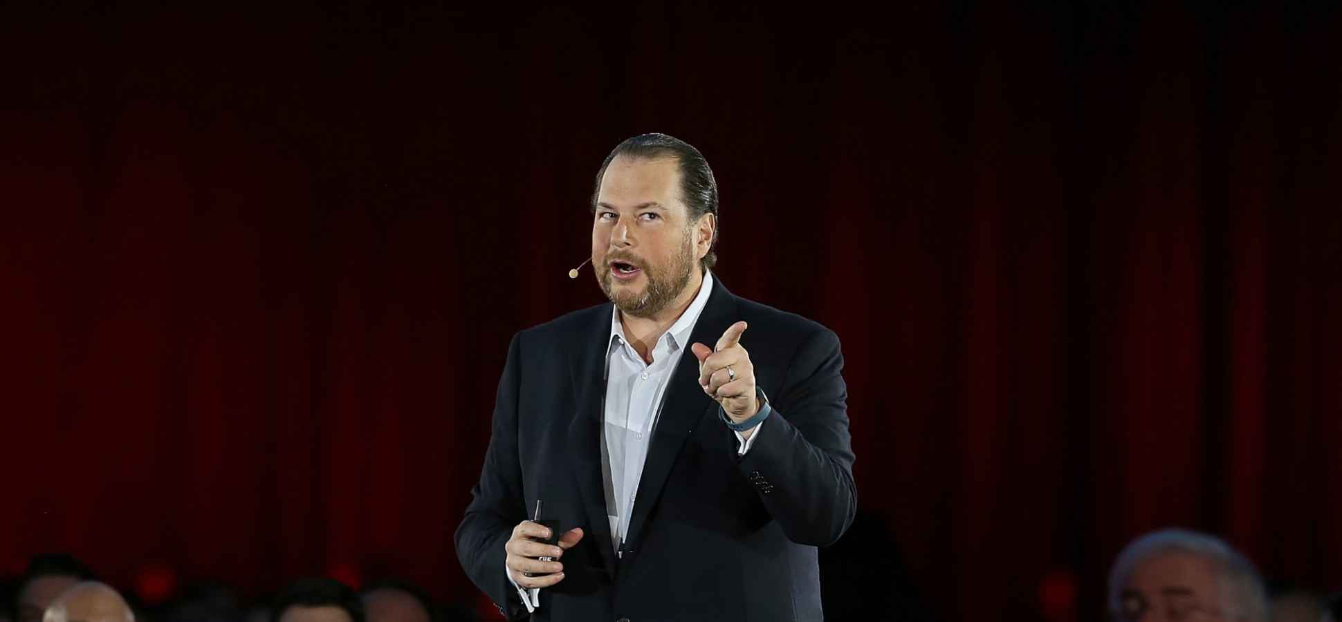 7 Lessons Salesforce CEO Marc Benioff Learned From Larry Ellison
