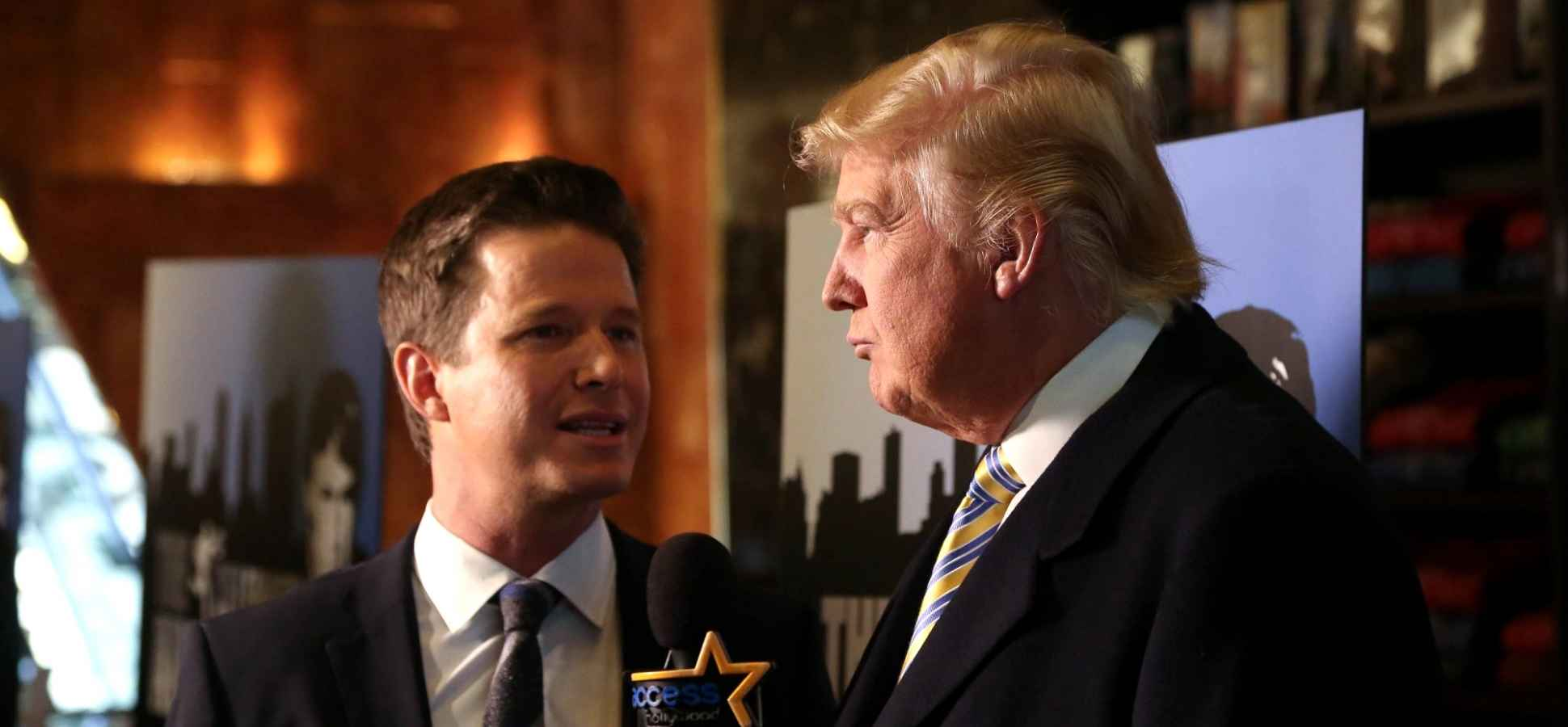 Why NBC Shouldn't Have Fired Billy Bush