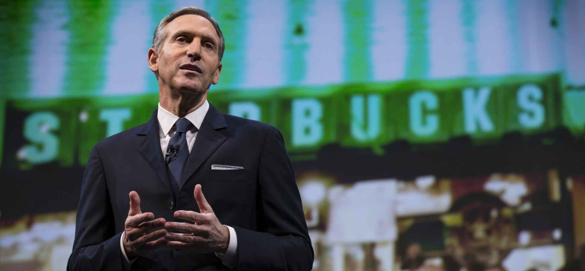 Starbucks' Howard Schultz Just Gave Excellent Career Advice by Asking These 3 Questions