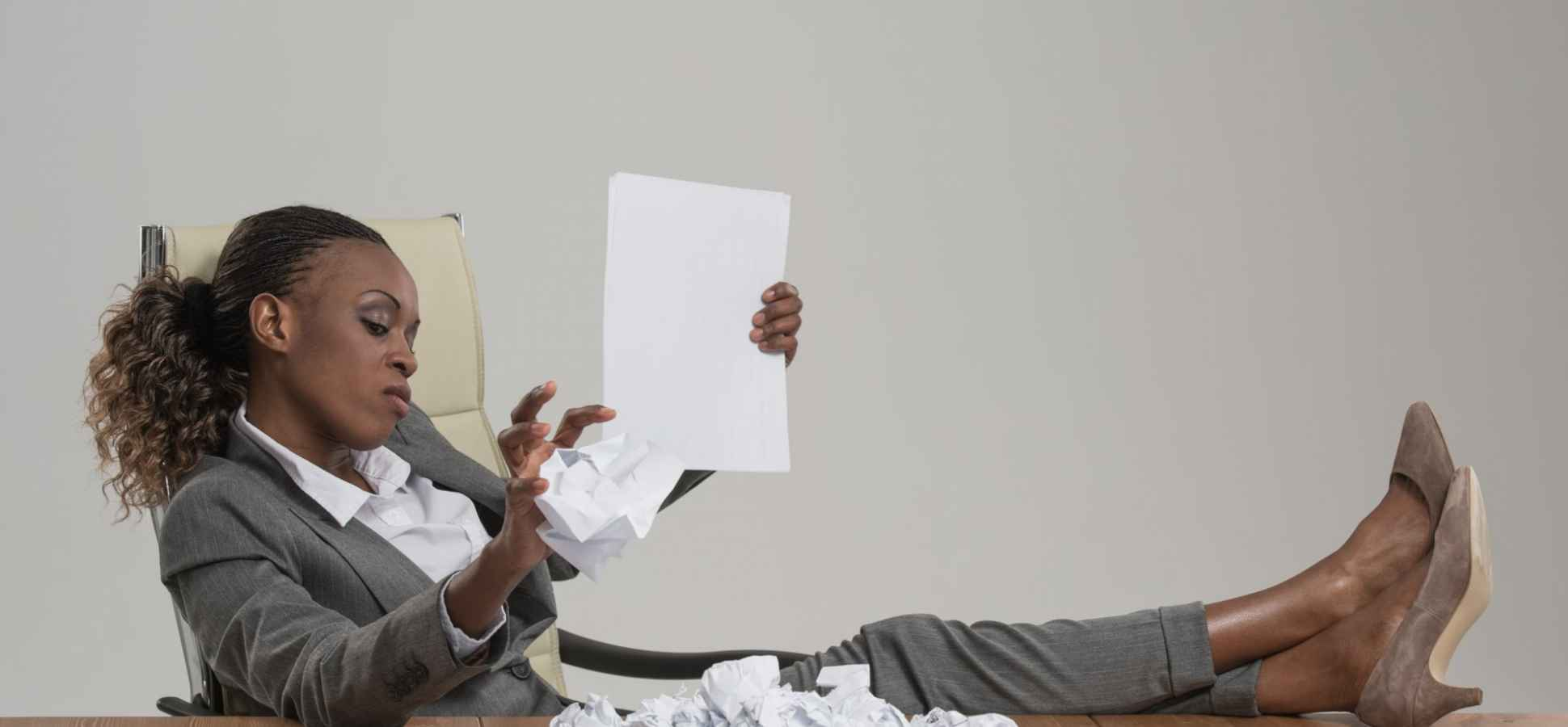 If Your Resume Isn't 6-Second Worthy, Studies Reveal Recruiters Will Toss It