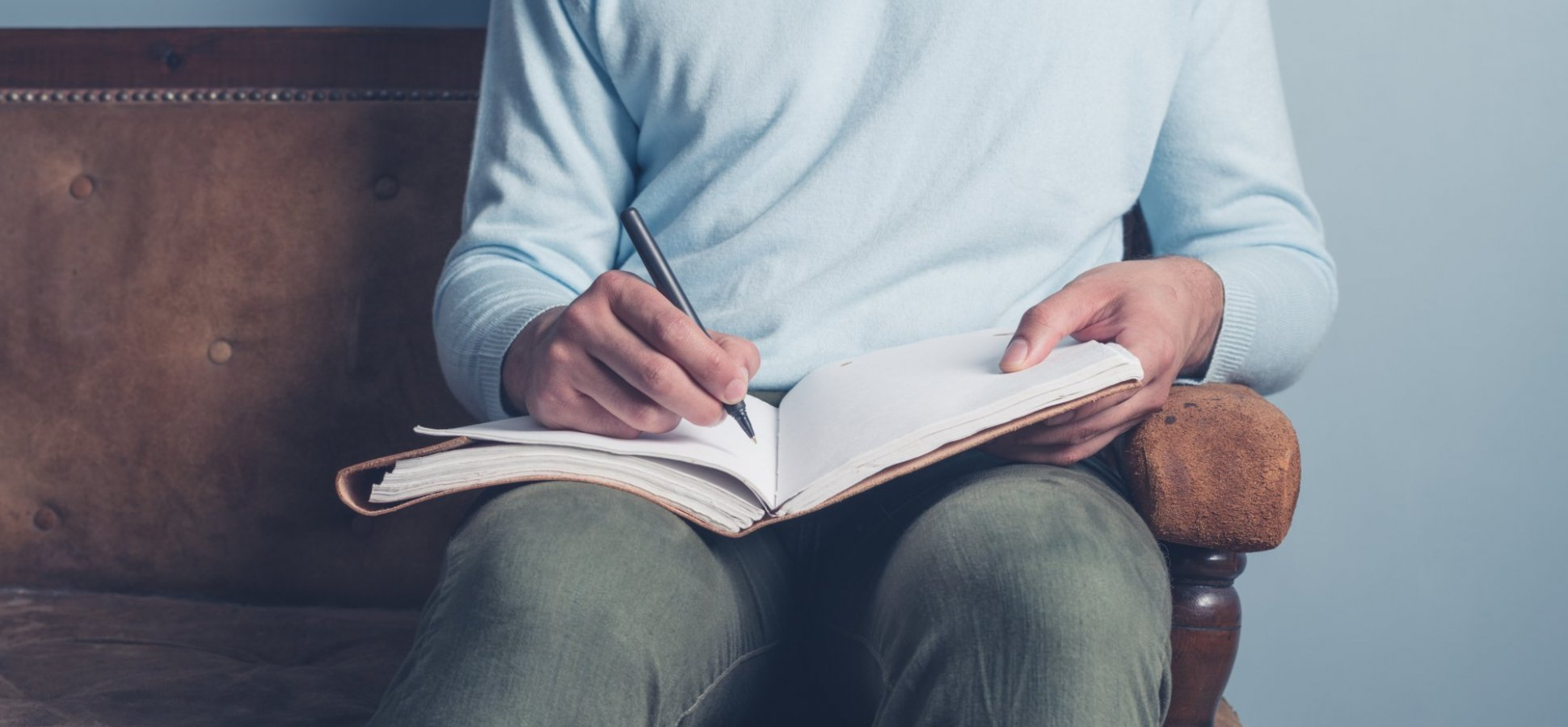 Stressed About 2018? Here's a Journaling Trick That Will Help You Write Out a Successful Future