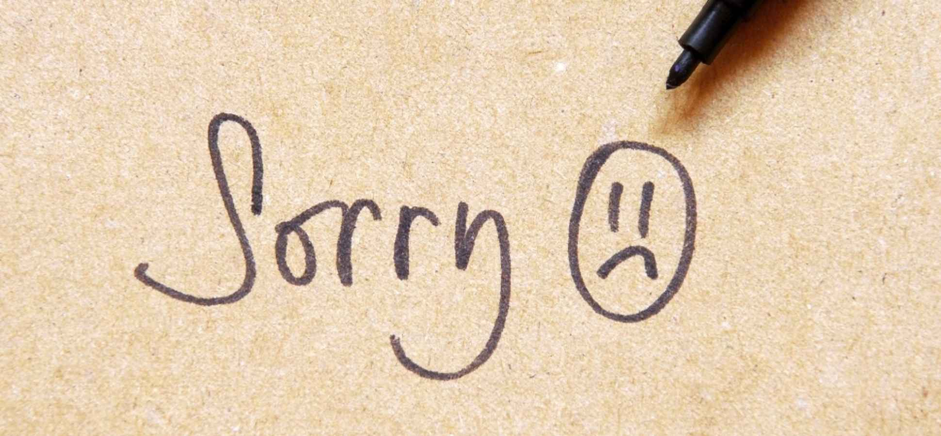 5 Steps to the Perfect Apology