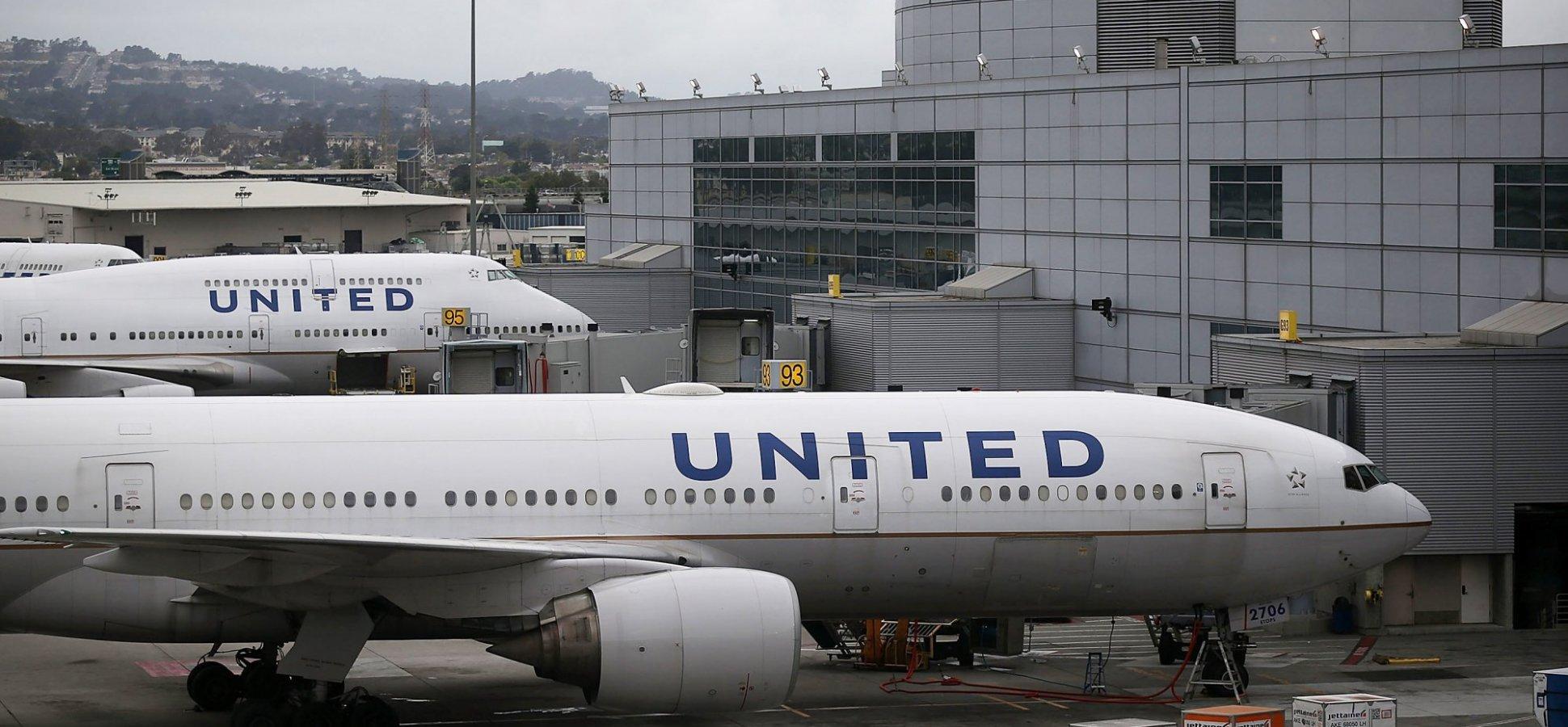 Resultado de imagen para United Airlines San Francisco Airport