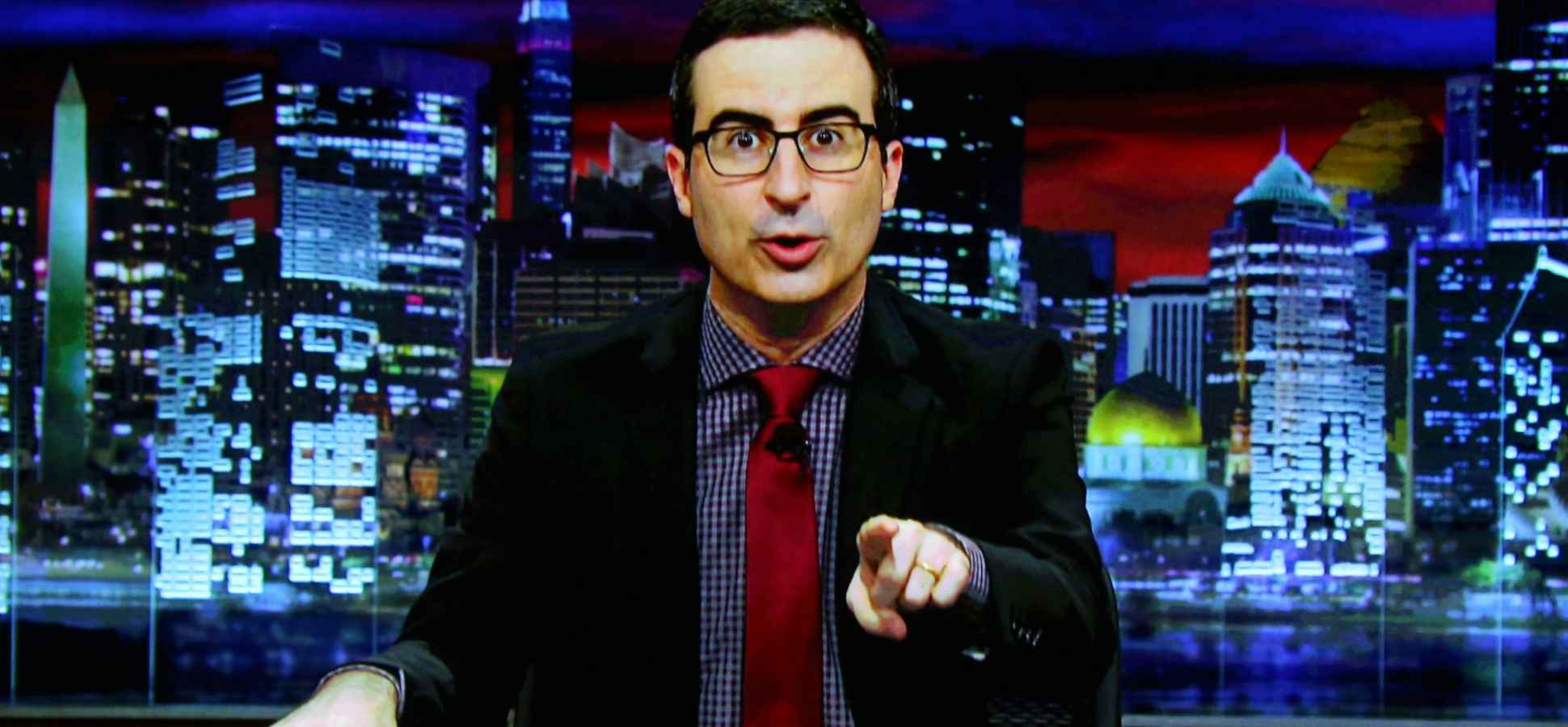John Oliver Just Showed How You Can Tell Your Industry Is About To Be Disrupted