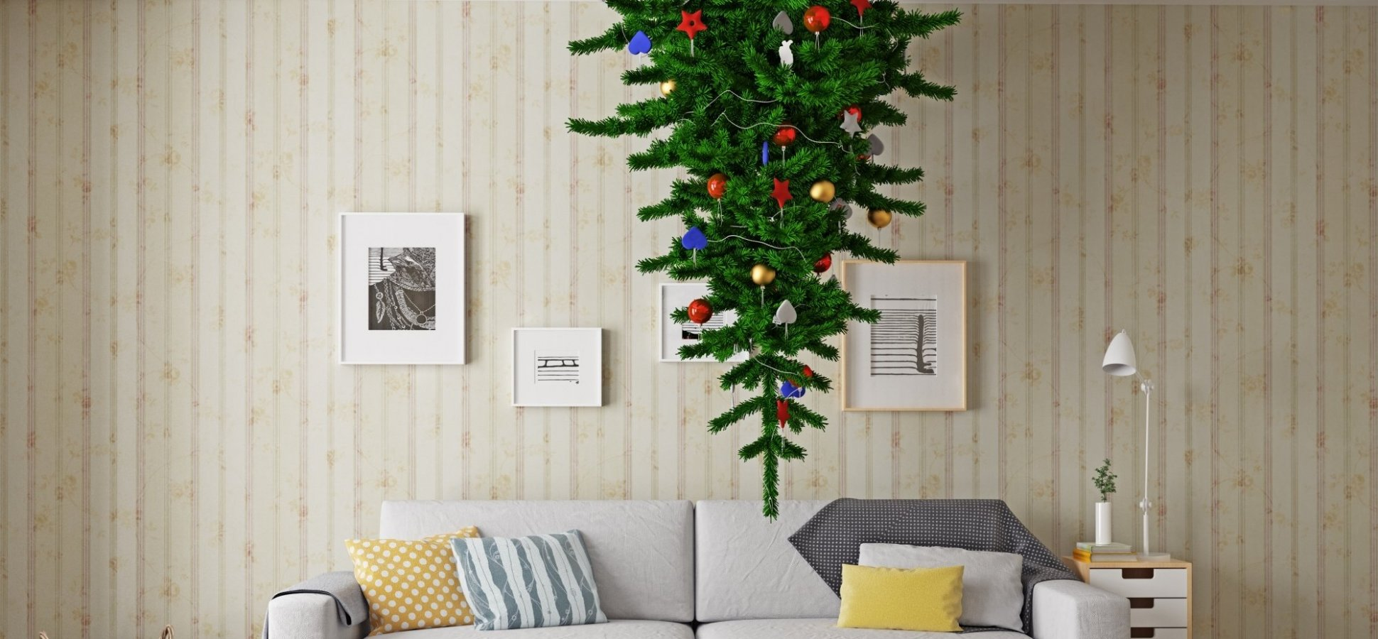 upside down christmas trees are ridiculous heres why you might want one anyway inccom