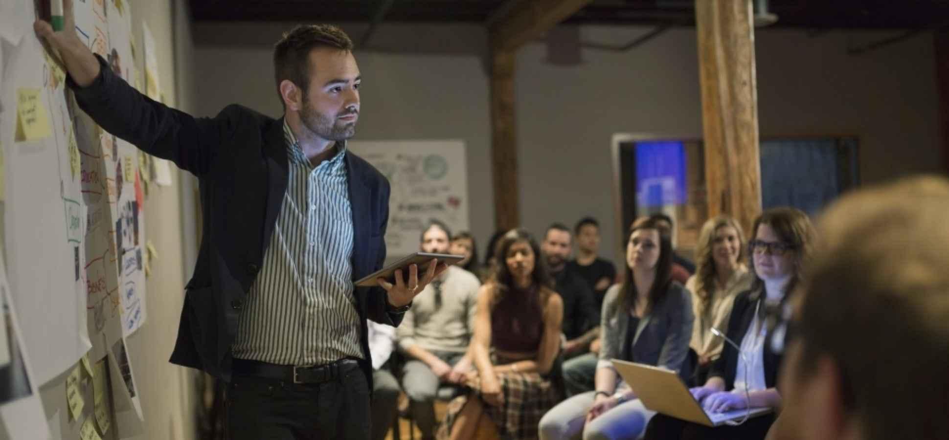 10 Presentation Tricks to Keep Your Audience Awake