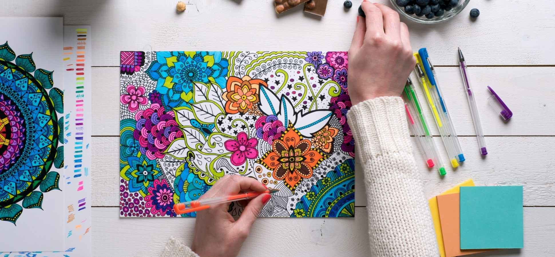 2 Creativity Hacks You Can Learn From the Adult Coloring Book Craze (Even If Coloring Isn't Your Thing)