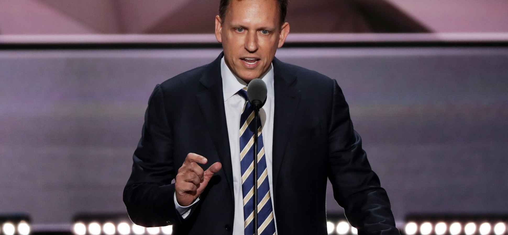 Silicon Valley Is Furious About Peter Thiel's $1.25 Million Donation to Trump's Campaign