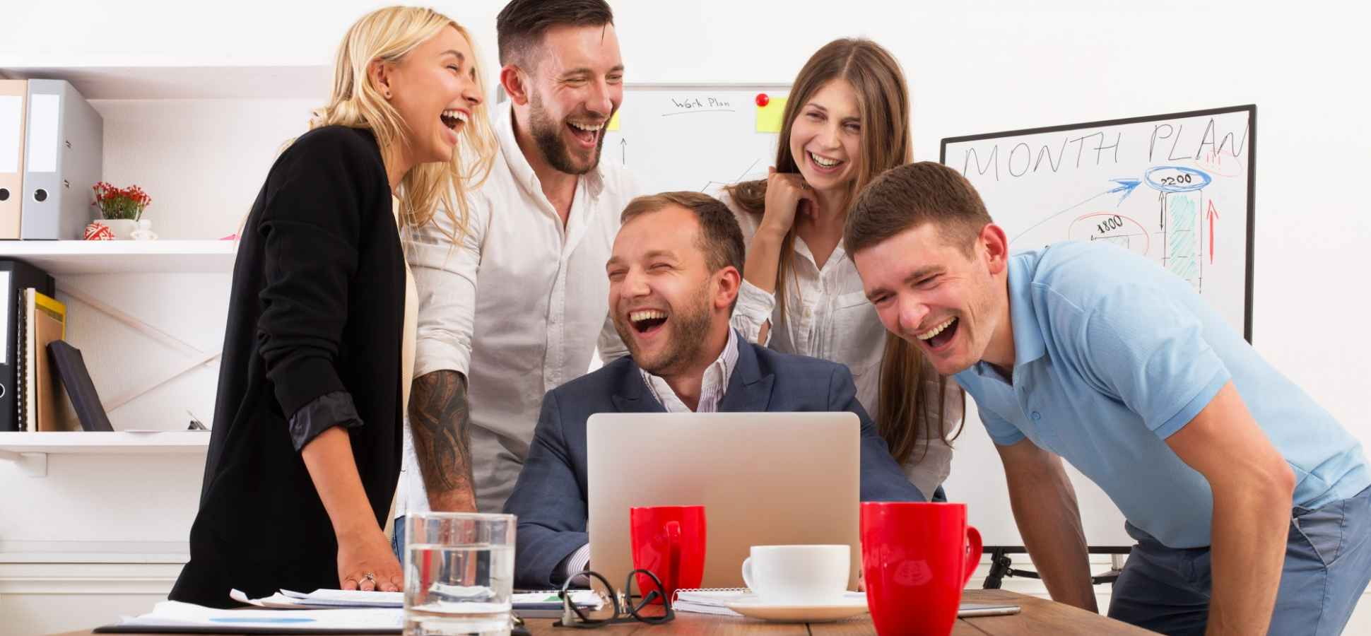 Want to Be More Funny? How to Make Friends at Work With Humor--and How Not To