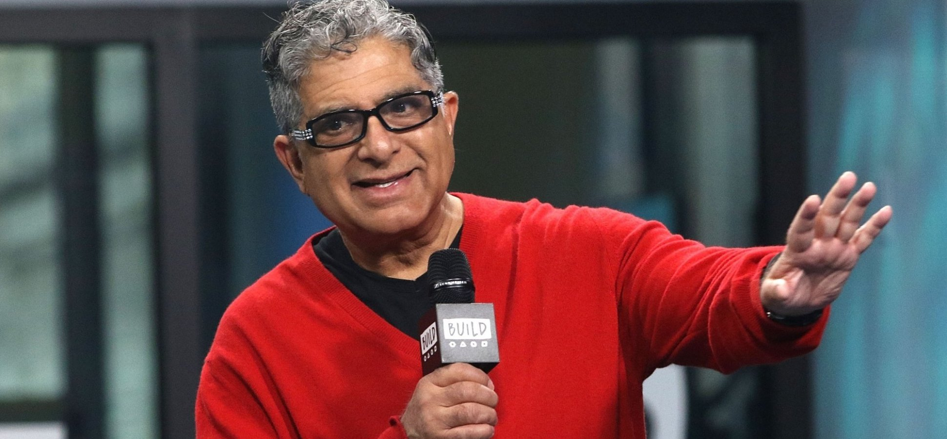 The Best Thing Deepak Chopra Ever Said About How to Change Your Life For the Better
