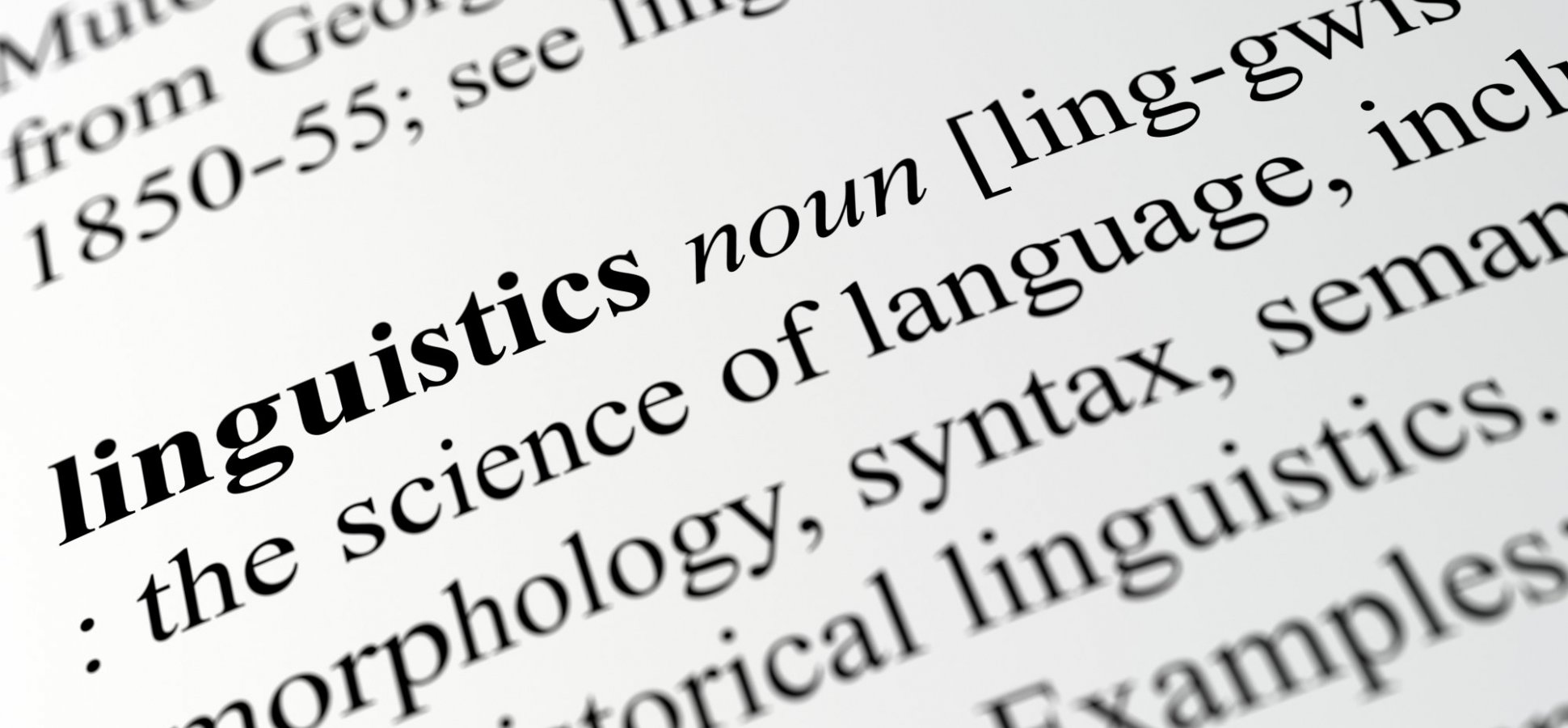To Learn About Innovation, Study the Linguistics.