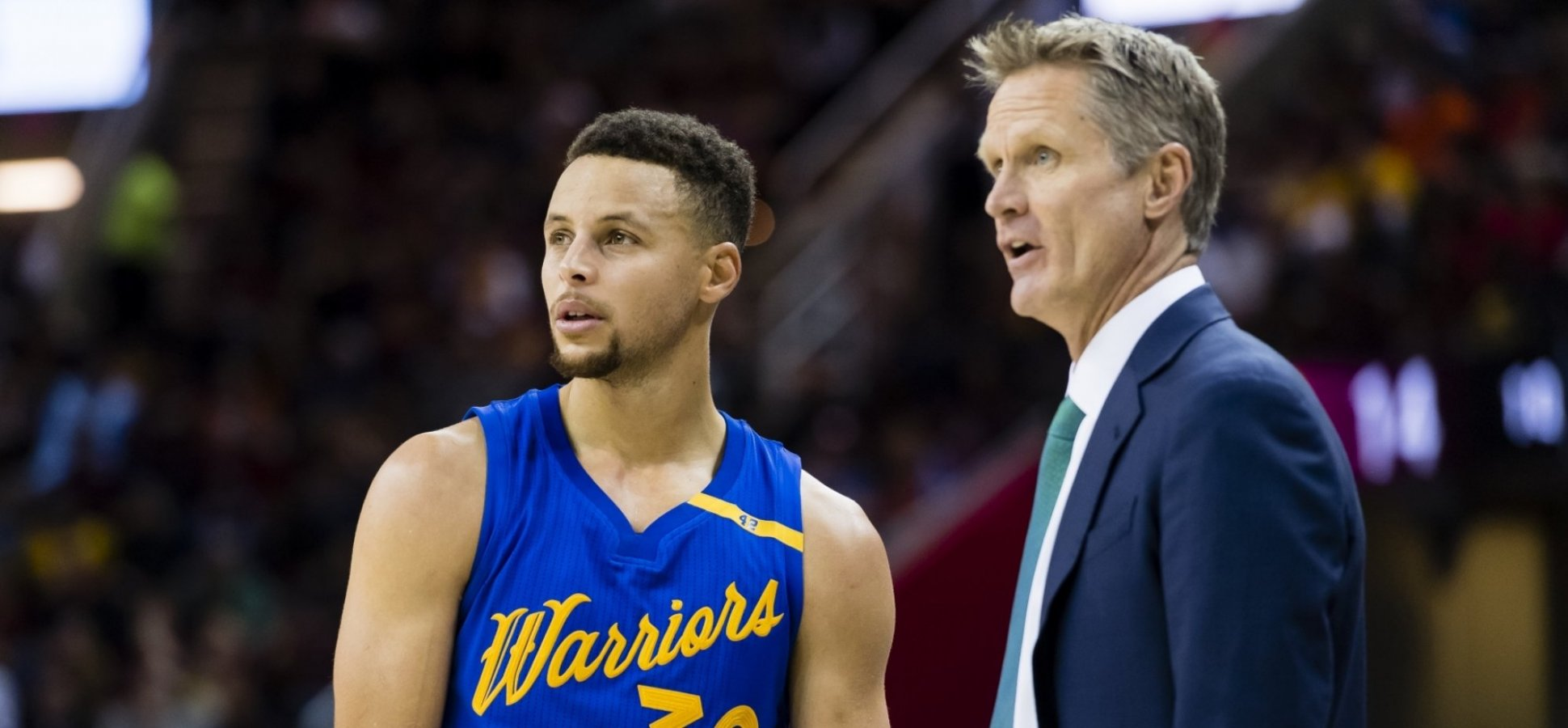 d8bd6b6242c2 This 30-Second Video of Steve Kerr and Steph Curry Is an Extraordinary  Lesson in Outstanding Leadership