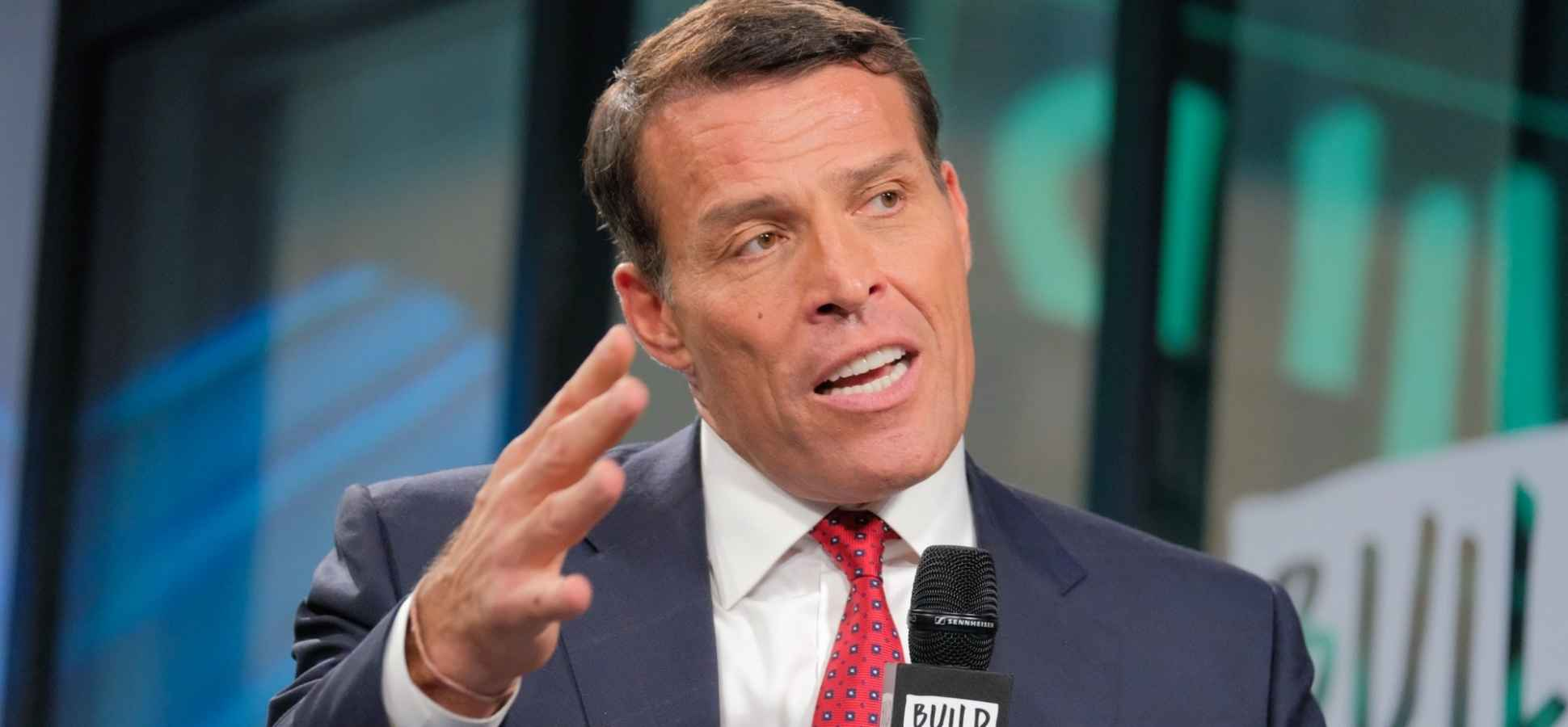 Tony Robbins Has 1 Question That Can Turn Your Worst Day Around