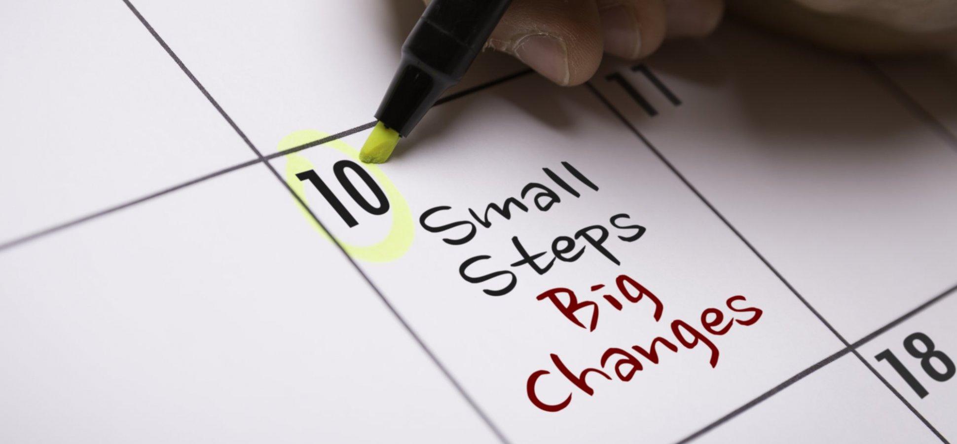 Beat Procrastination by Starting Small