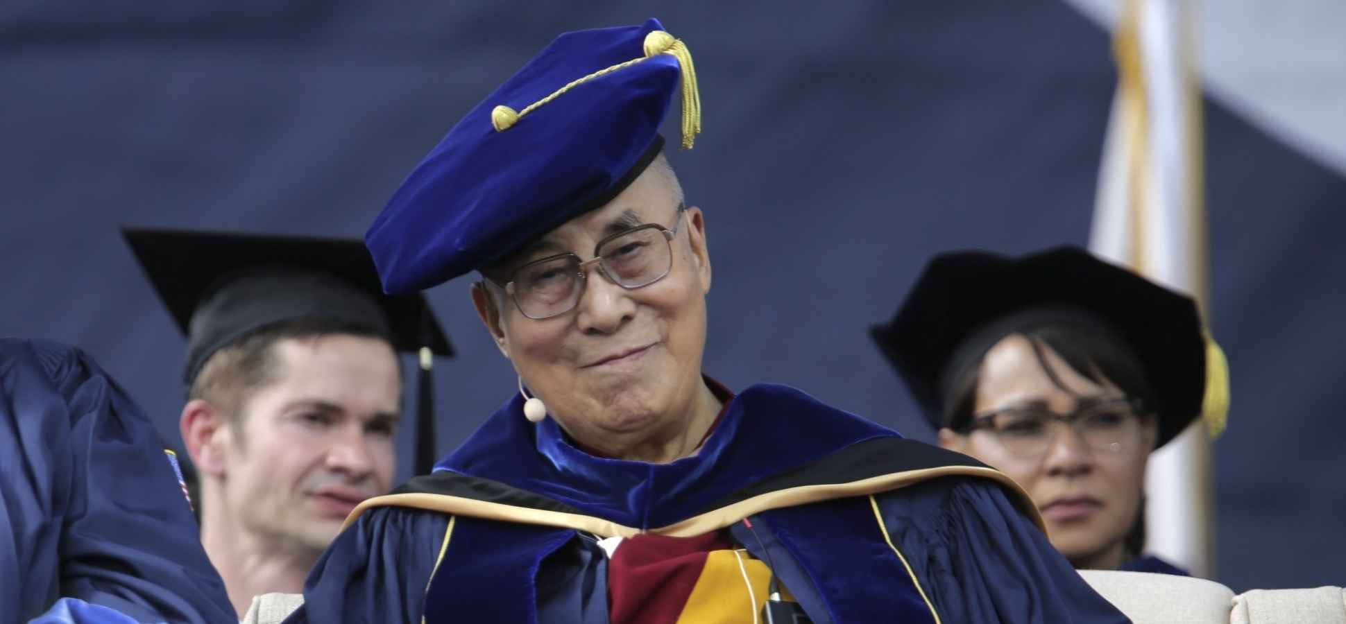 Dalai Lama to Grads: It's Time to Promote Deeper Human Values