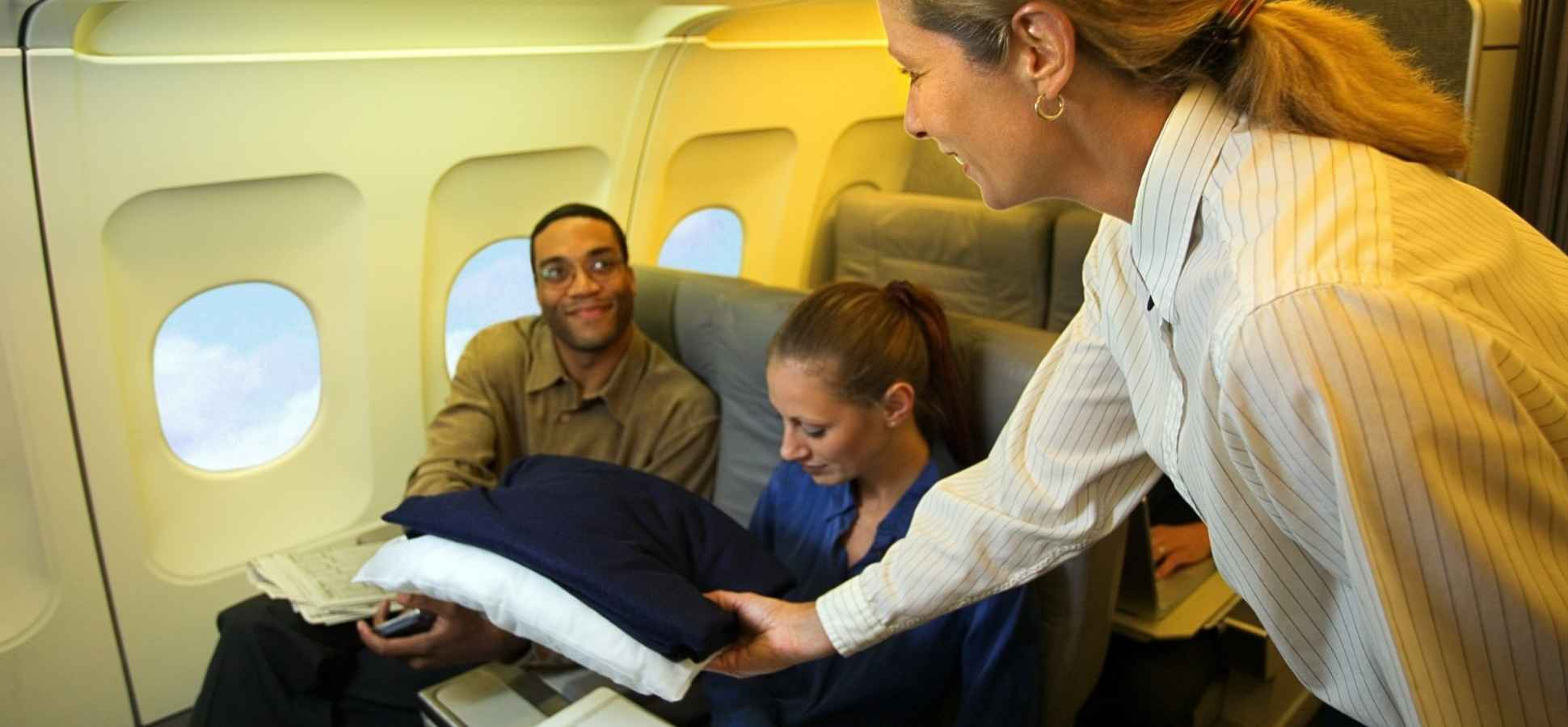 Here's What Happened After an Airline Demanded a Passenger Pay $12 for a Blanket (It Was Chilling)