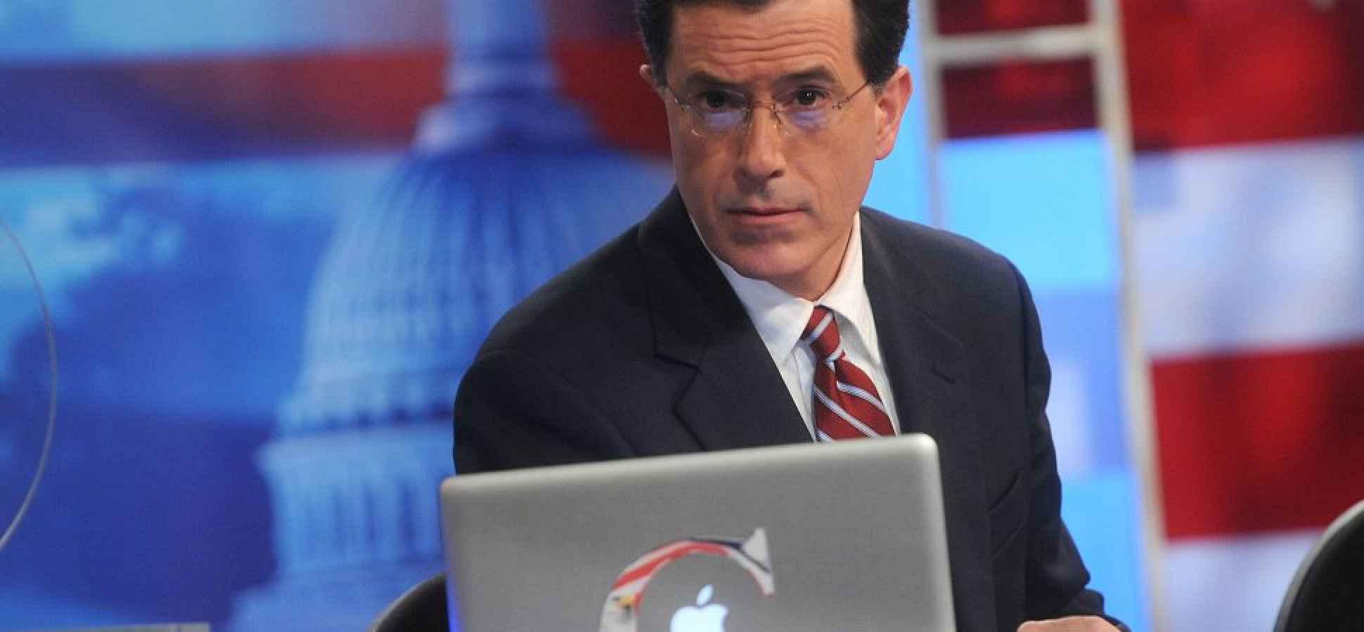 The Best Entrepreneurship Lessons From 'The Colbert Report'