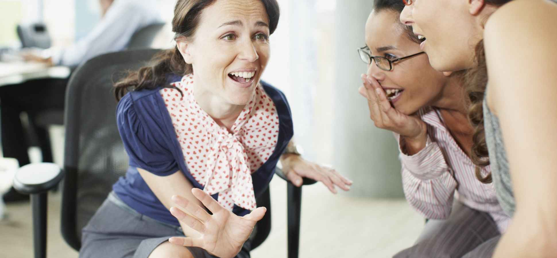 Want To Make Your Team More Productive? Let Them Gossip More