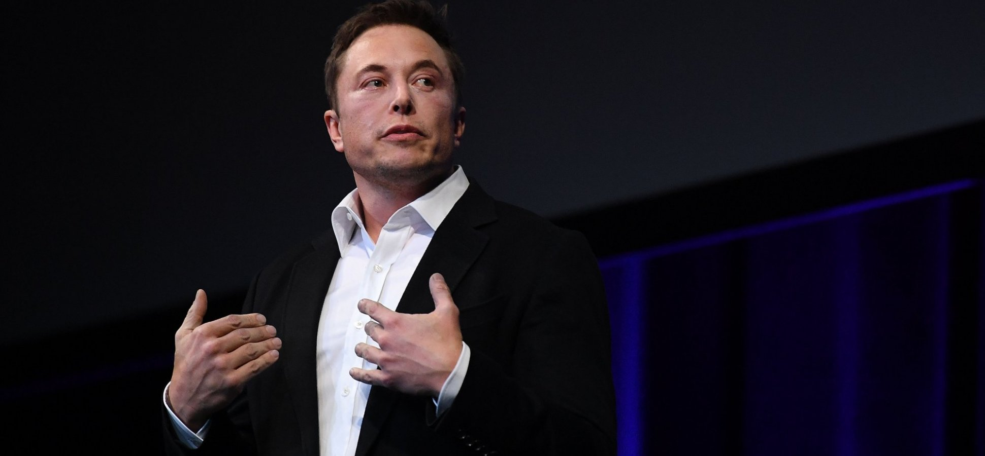 Elon Musk Just Made a Secret Speech to a Very Intimidating Audience. Here's How He Found the Right (and Wrong) Thing to Say