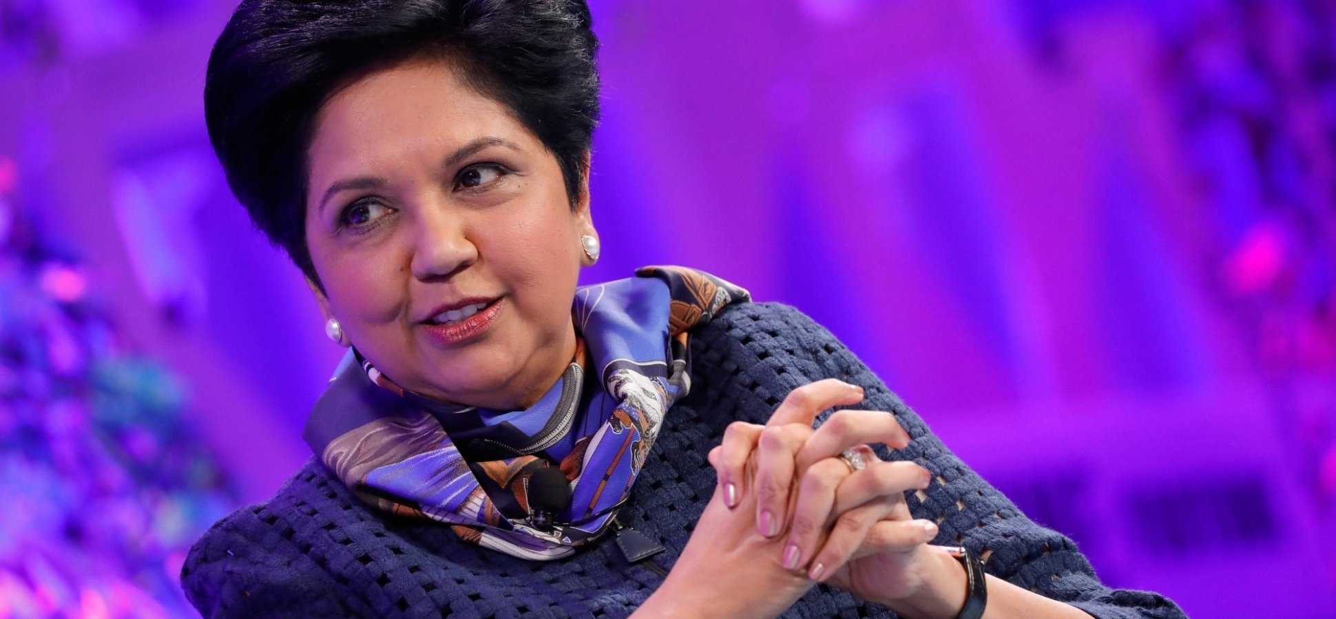 Outgoing PepsiCo CEO Indra Nooyi Has 1 Big Piece of Advice for Today's Young People