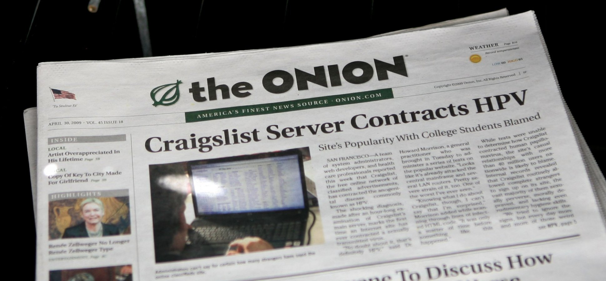 The 3-Step Brainstorming Process 'The Onion' Uses to Come Up With So Many Hilarious Ideas