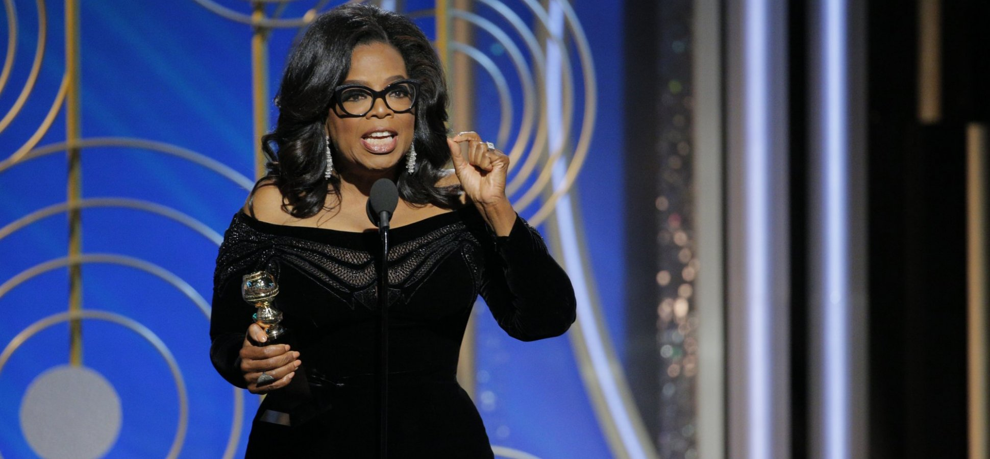 The Expert Speaking Trick That Made Oprah's Golden Globes Speech Rock--And How You Can Steal It