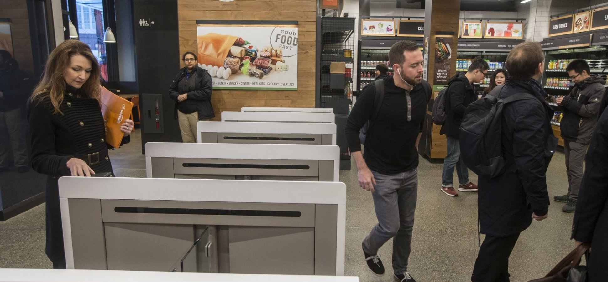 Amazon Is Planning to Disrupt the Supermarket Business. And It Won't Need Cashiers to Do It