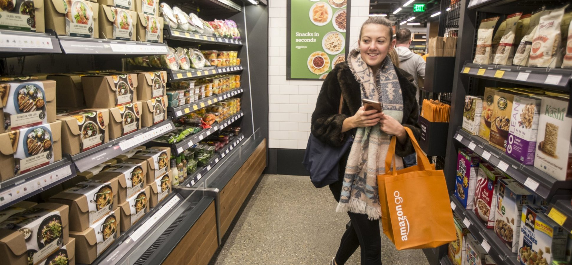 Why Scan-and-Go Technology Is Surging in More Grocery Stores
