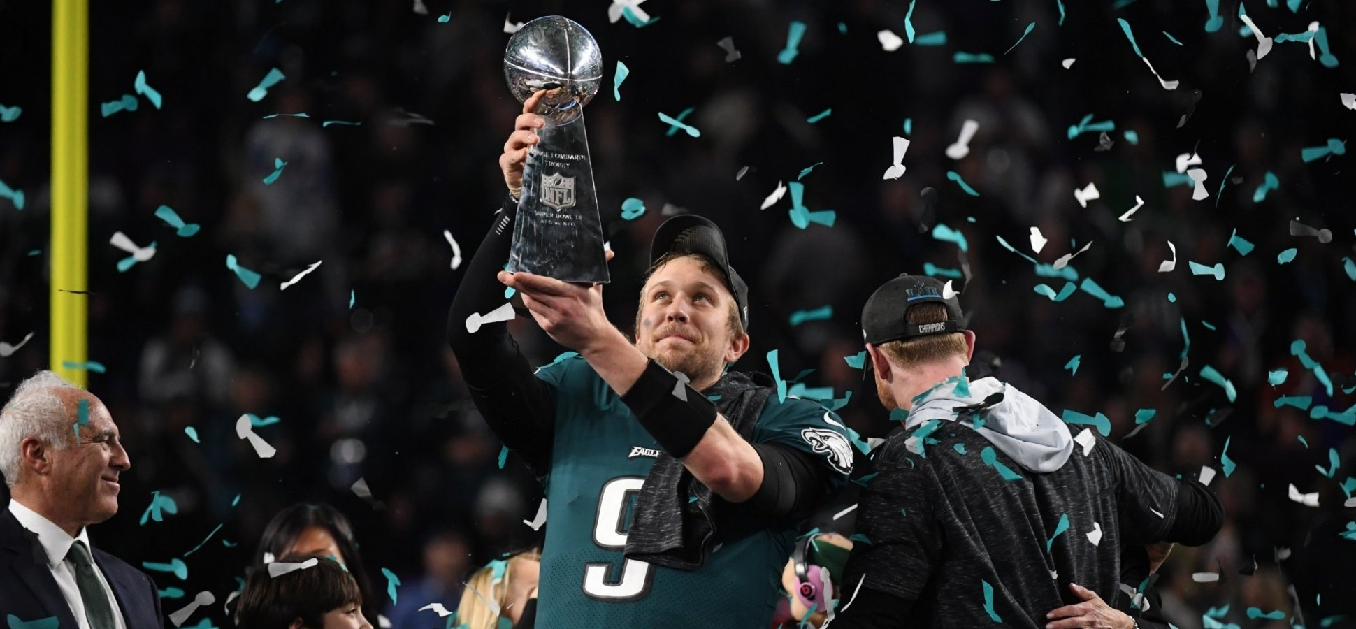 It Only Took Super Bowl MVP Nick Foles 1 Minute to Share a Message That Will Leave You Completely Inspired