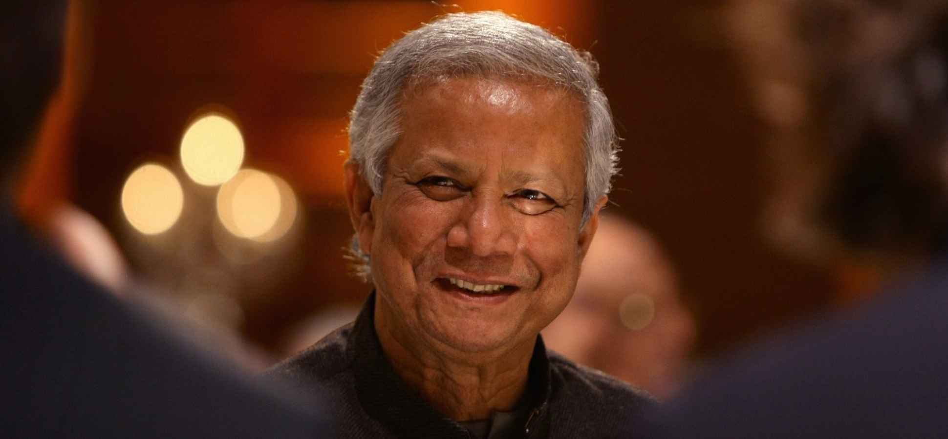 Why Muhammad Yunus Thinks Millennials Shouldn't Get Jobs