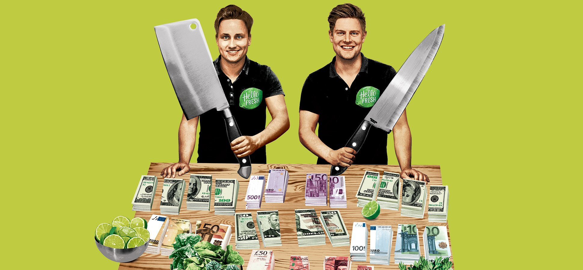 The World's Most Ruthless Food Startup: The Inside Story of How HelloFresh Clawed Its Way to the Top