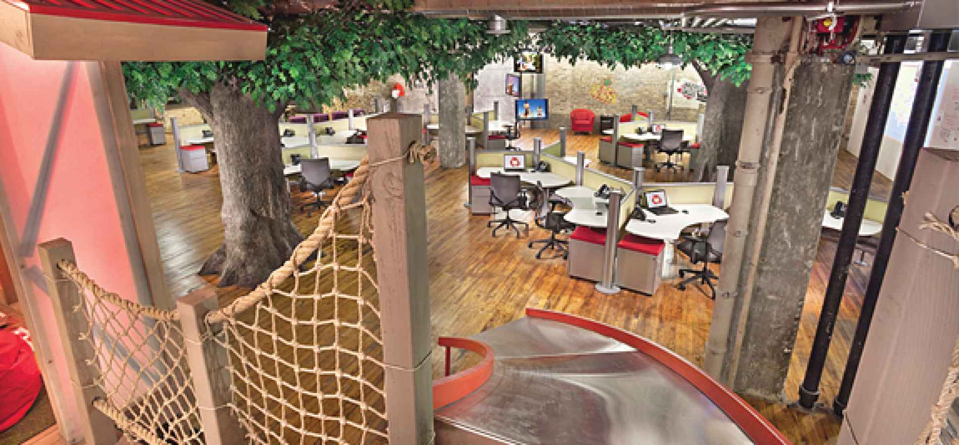 The Case for Building Your Employees a Tree House