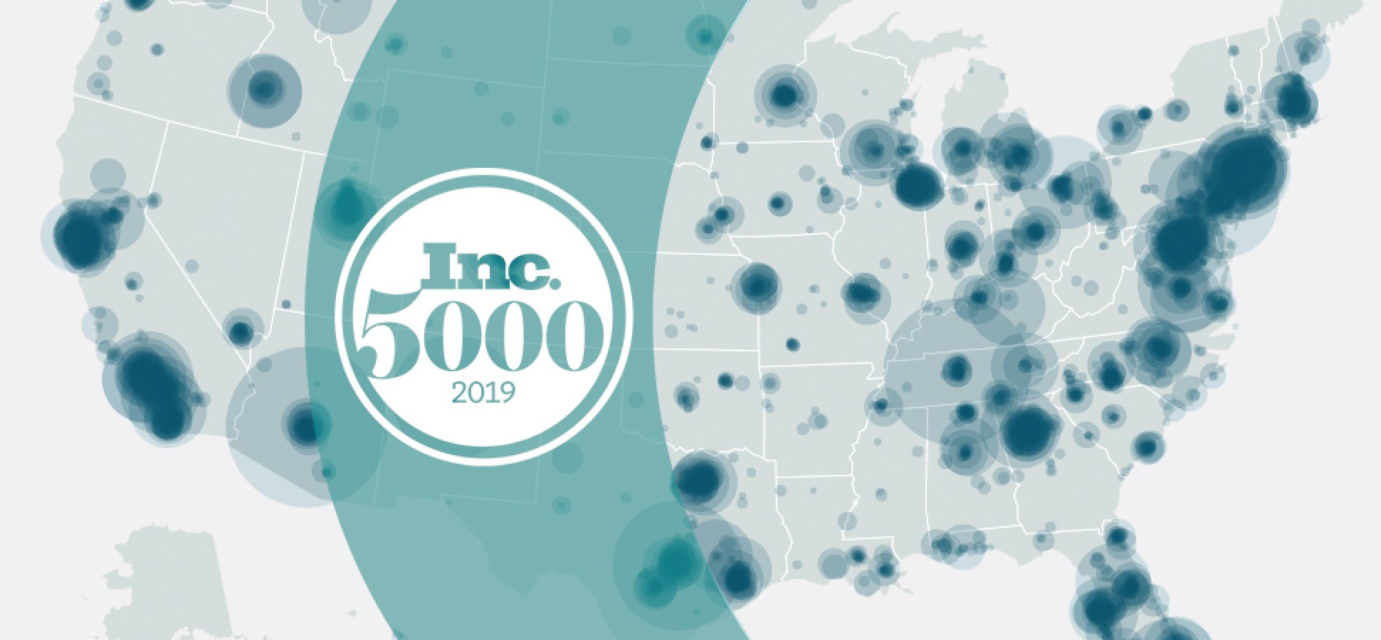 2019 Inc  5000 Map: Where Business Is Booming In America