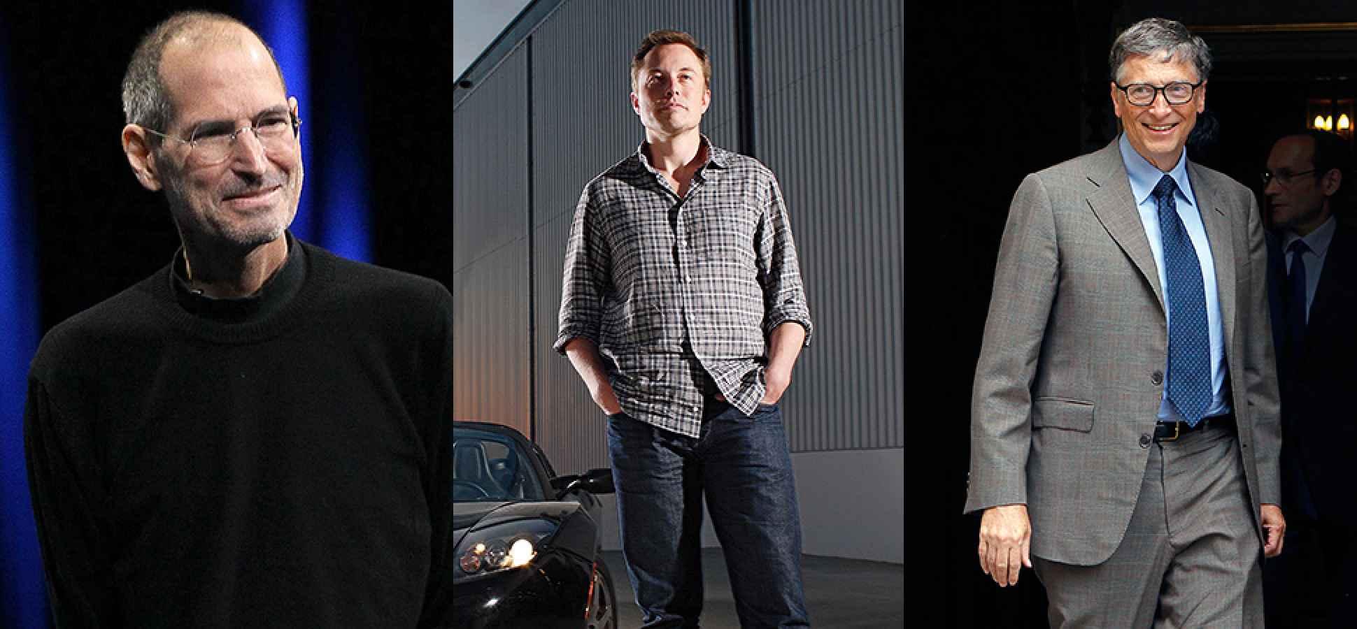 How to Think Like Steve Jobs, Innovate Like Elon Musk, and Act Like Bill Gates