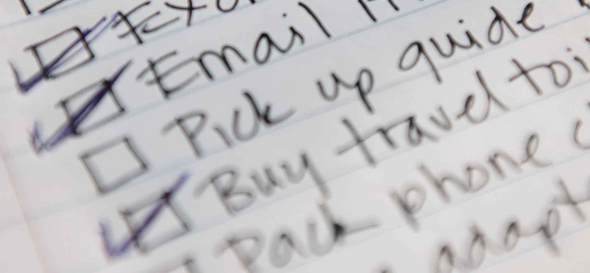 4 Ways to Trick Yourself Into Getting Everything Done on Your To-Do List