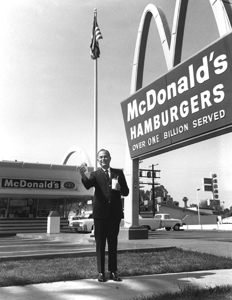 raymond kroc and the history of mcdonalds corporation Mcdonald's australia limited is an unlisted australian public company  ray  kroc, mcdonald's founder and senior chairman, dies and ronald mcdonald.
