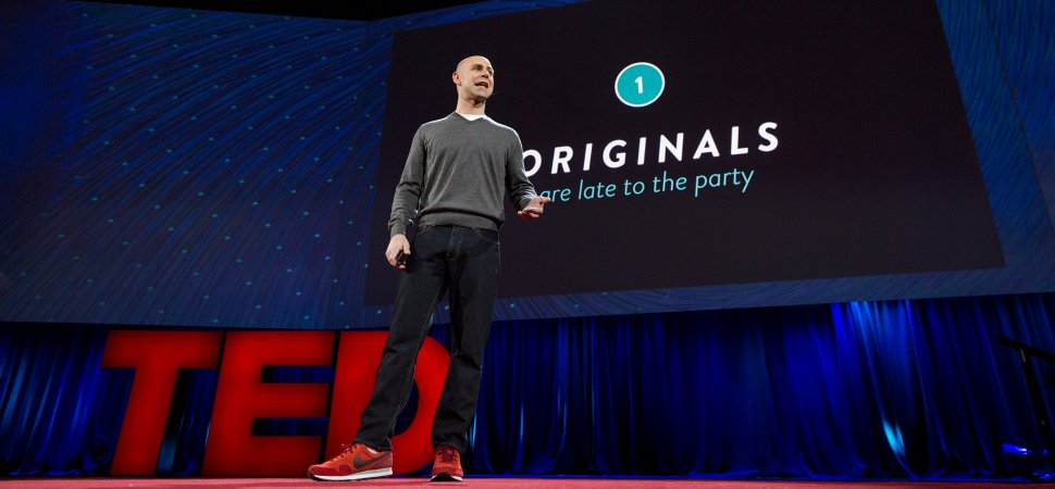 Image result for adam grant ted