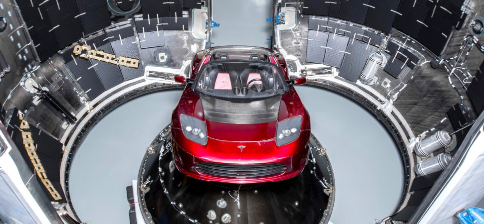 Elon Musk Shares Picture of the Tesla Roadster Heading to