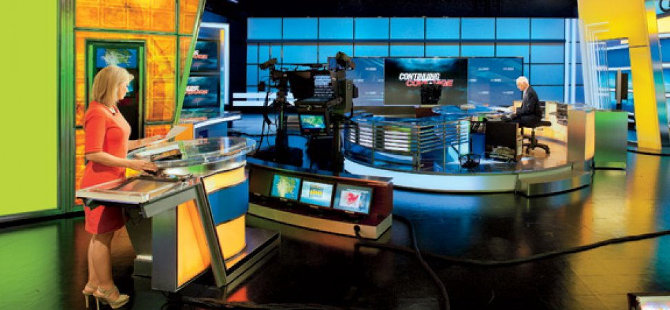 small companies behind the scenes at the weather channel