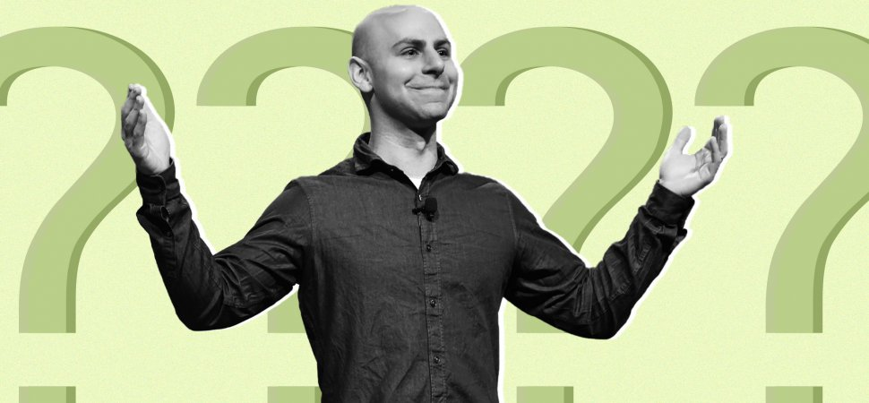 Adam Grant Just Explained How to Answer the Question Everyone Hates Most