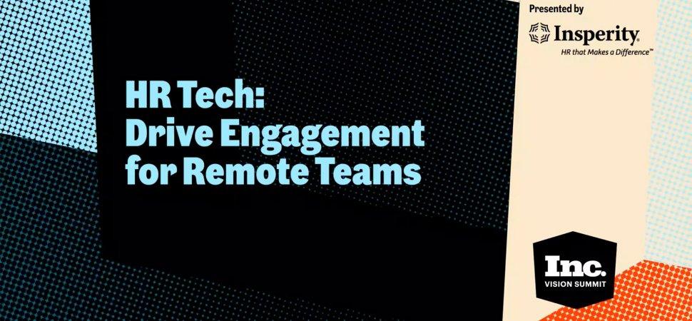 HR Tech: Drive Engagement for Remote Teams image