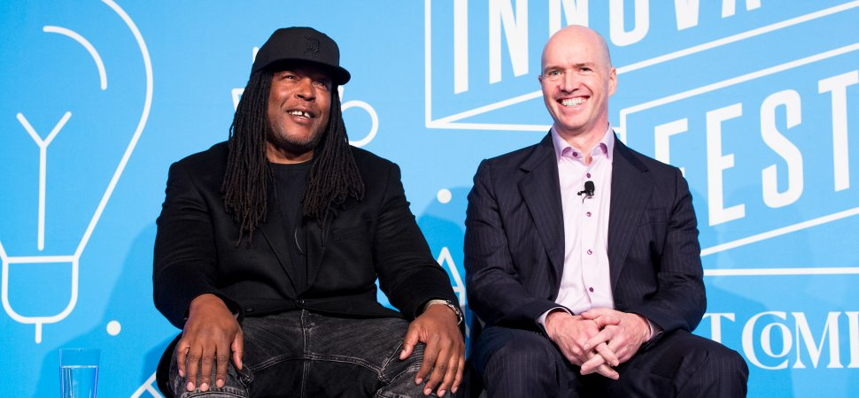 Shaka Senghor (left) and Ben Horowitz.