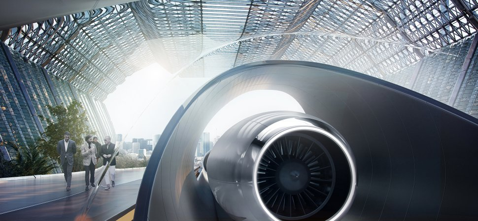 the race to build the rail of the future heats up hyperloop startup signs deal overseas inccom