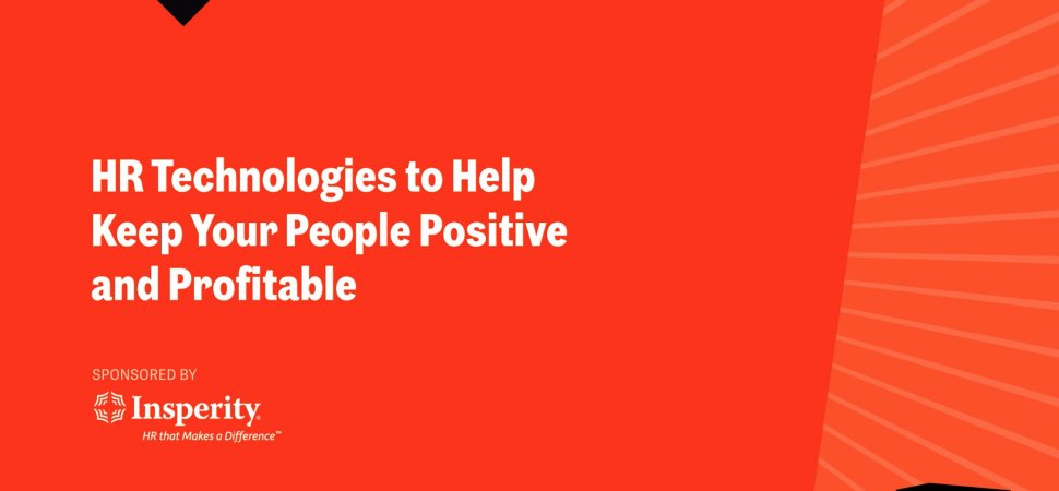 HR Technologies to Help Keep Your People Positive and Profitable image