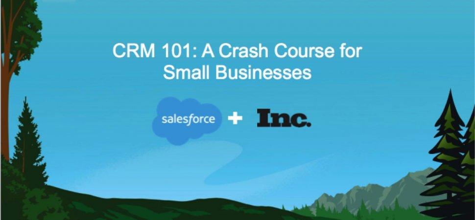 CRM 101: A Crash Course for Growing Businesses (On-Demand Webinar) image