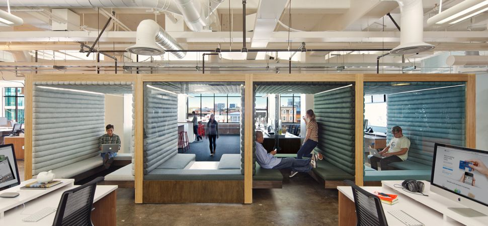 Inside The Latest OfficeDesign Craze Hot Desking Inc Inspiration Office Design Companies