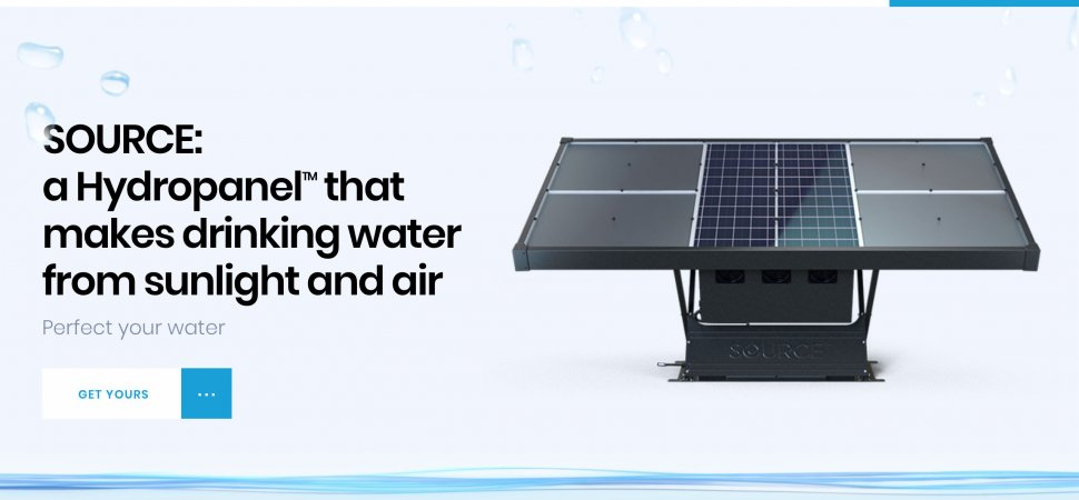 The Maker of These $4,500 Solar Panels Wants You to Never Buy Drinking Water Again