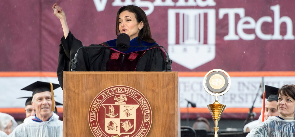 Sheryl Sandberg Isn't Afraid to Share the Lessons of Grief image