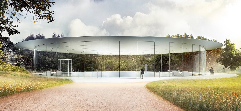 Image result for Apple's $5 billion 'Spaceship' hilltop theater